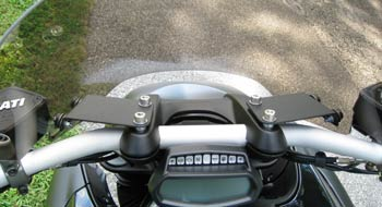 Parabellum Ducati Diavel Cafe Windshield