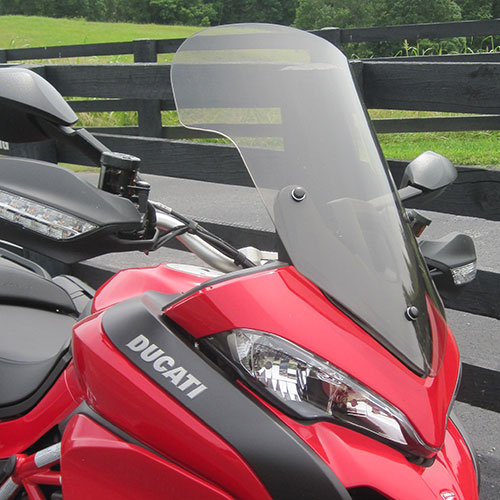 Ducati Multistrada Replacement Touring Windshield 2014-