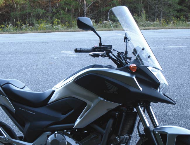PARABELLUM Replacement Windshield  for the Honda NC700X