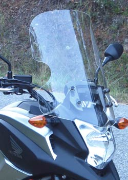 Parabellum Sport Touring Replacement Windshield Honda NC700X