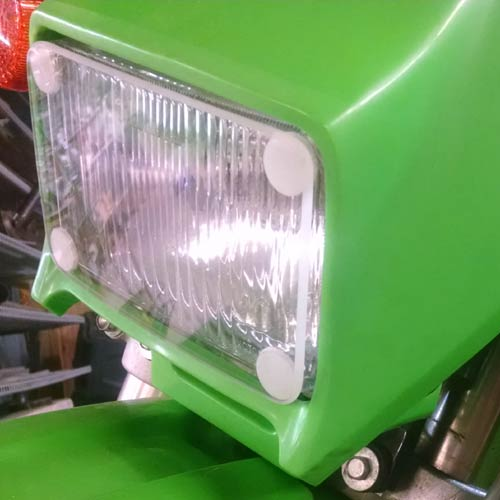 Parabellum Kawasaki KLX250 Headlight Cover