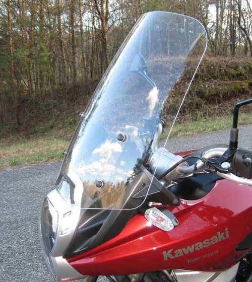 PARABELLUM Replacement Windshield  for the Kawasaki Versys 2010-14