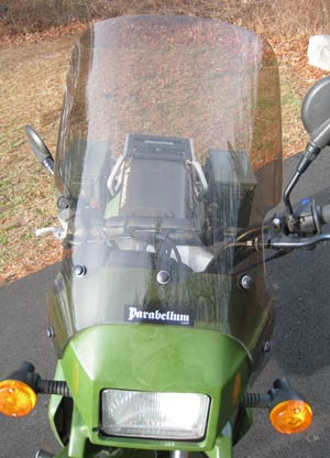 Parabellum Replacement Windshield pre-2008 Kawasaki KLR650