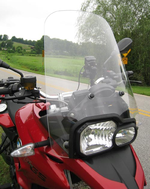 Parabellum Replacement Windshield for the BMW F700GS (2013-)