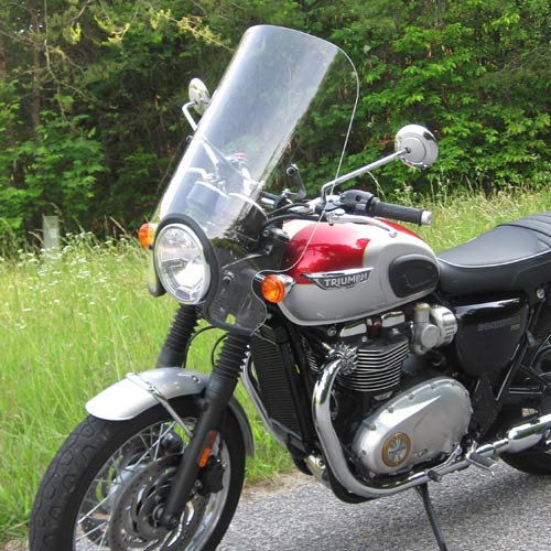 Triumph Bonneville T120 Sport Touring Windshield 2016-