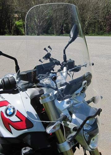 BMW R1200R Super Tour Windshield 2015-2016