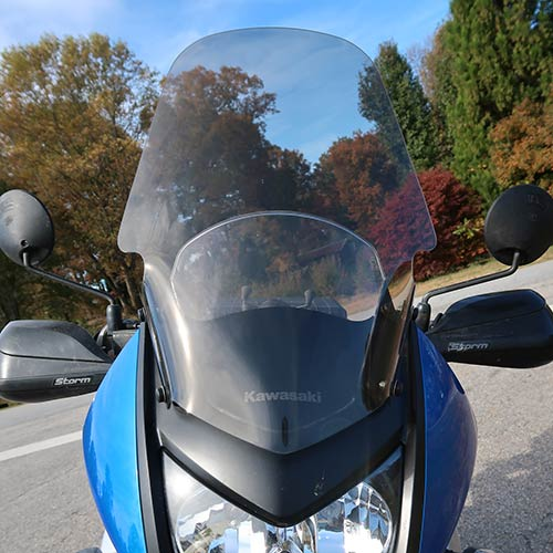 PARABELLUM Kawasaki KLR650 Touring Windshield 2008-on
