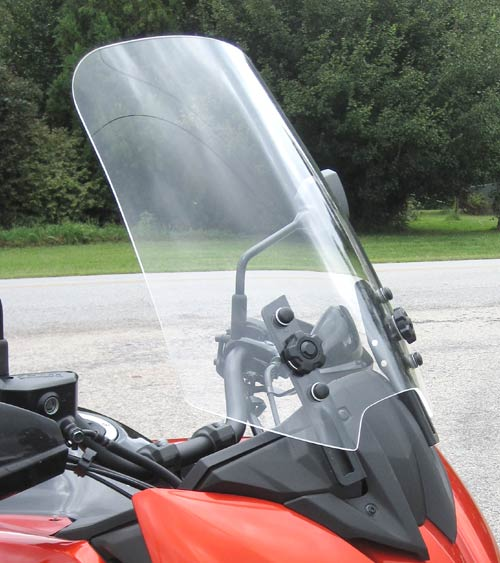 PARABELLUM Replacement Touring Windshield Kawasaki Versys 1000 2015-on
