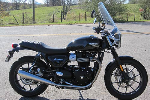 NEW 2016-On Triumph Street Twin Parabellum Sport Touring Windshield