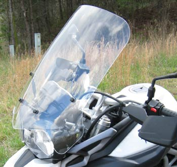 PARABELLUM Replacement Windshield 2010-on Kawasaki ZX1000