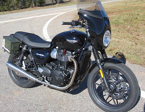 Scout Fairing for Triumph Street Twin 2016-