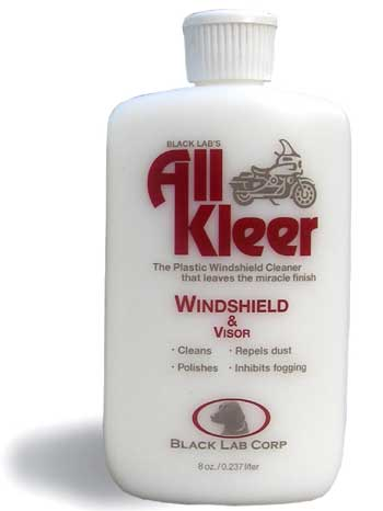 All Kleer Windshield Cleaner and Polish (8oz.)