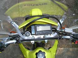 Parabellum Windshield for the Suzuki DRZ400S/SM