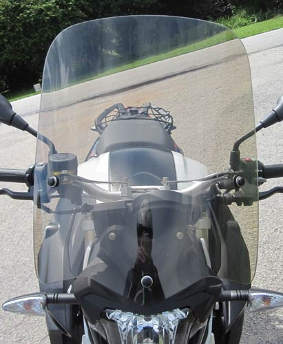 BMW F800R Parabellum Sport Touring Windshield
