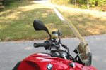 PARABELLUM Touring Replacement Windshield for BMW F650GS/F800GS ('09-)