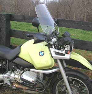 PARABELLUM BMW R1100GS Motorcycle Touring Windshield
