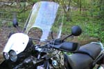 R1150GS Guard Mount Windshield