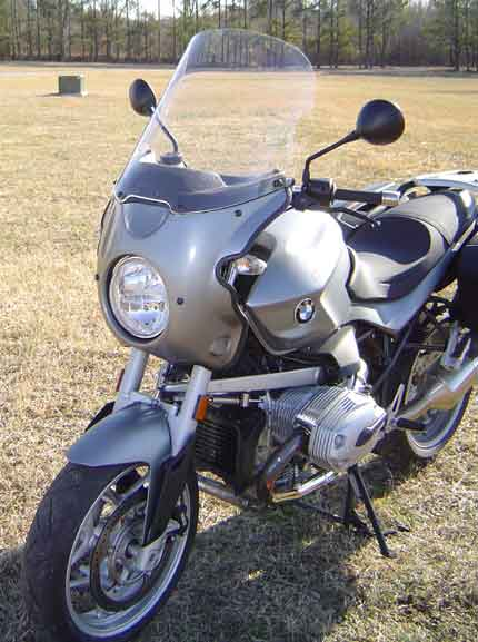 Parabellum Scout fairing for BMW R1200R
