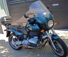 Parabellum Scout Fairing on 1996 BMW R850R