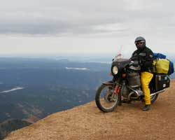 Parabellum Scout Fairing at Pikes Peak